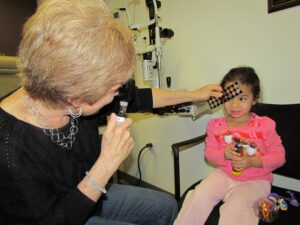 Pediatric Eye Exam by Dr. Lynn Hellerstein