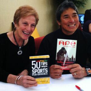 Lynn Hellerstein and Guy Kawasaki